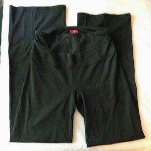 Spanx Slim X Black Yoga Pants Size XL
